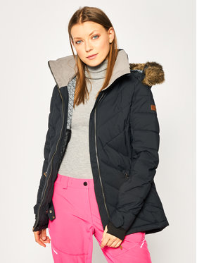 Roxy Roxy Μπουφάν για snowboard Quinn ERJTJ03227 Μαύρο Tailored Fit
