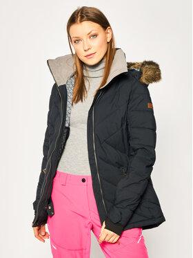 Roxy Roxy Snowboardová bunda Quinn ERJTJ03227 Čierna Tailored Fit