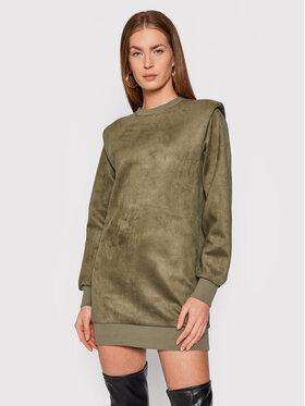 Guess Guess Úpletové šaty Carina W1BK05 KAUJ0 Zelená Comfort Fit