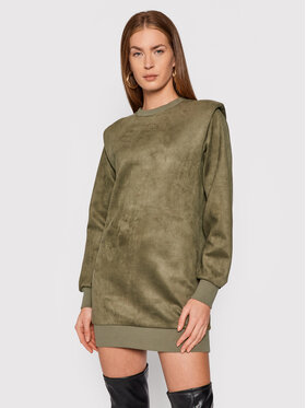 Guess Guess Vestito di maglia Carina W1BK05 KAUJ0 Verde Comfort Fit
