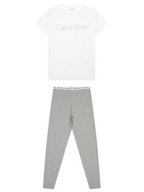 Calvin Klein Underwear Calvin Klein Underwear Pižama G80G800084 Balta Regular Fit