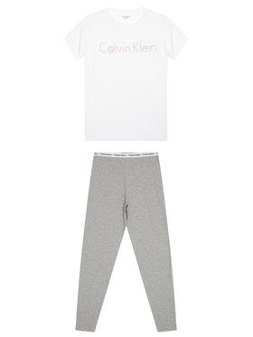 Calvin Klein Underwear Calvin Klein Underwear Piżama G80G800084 Biały Regular Fit