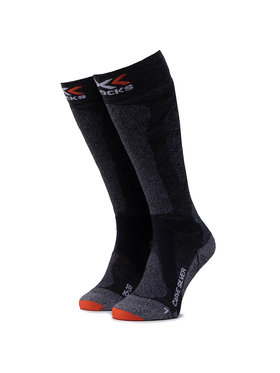 X-Socks X-Socks Dámské klasické ponožky Carve Silver 4.0 XSSS47W19U Šedá