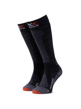 X-Socks X-Socks Κάλτσες Ψηλές Γυναικείες Carve Silver 4.0 XSSS47W19U Γκρι
