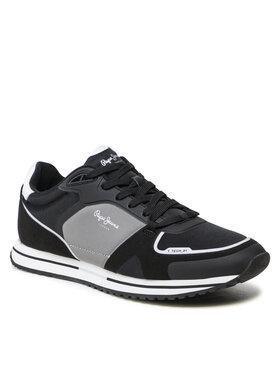 Pepe Jeans Pepe Jeans Sneakersy Tour Tech 01 PMS30774 Černá