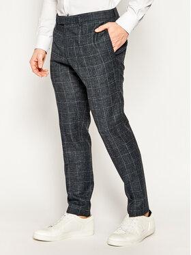Strellson Strellson Společenské kalhoty 11 Kynd 30020942 Tmavomodrá Slim Fit