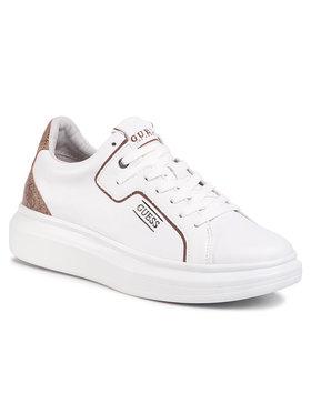 Guess Guess Sneakersy Salerno FM6SAL FAL12 Bílá