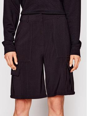 Samsøe Samsøe Samsøe Samsøe Kratke hlače Citrine F21100136 Crna Regular Fit