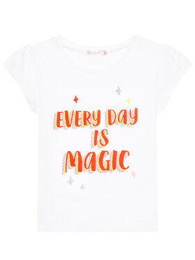 Billieblush Billieblush T-shirt U15879 Blanc Regular Fit