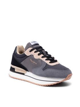 Pepe Jeans Pepe Jeans Sneakersy Rusper Teen PLS31261 Sivá