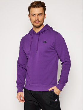 The North Face The North Face Bluză Seas Drew Peak NF0A2TUVNL41 Violet Regular Fit