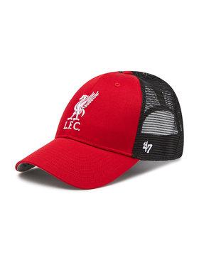 47 Brand 47 Brand Шапка с козирка Liverpool FC Branson EPL-BRANS04CTP-RD Червен