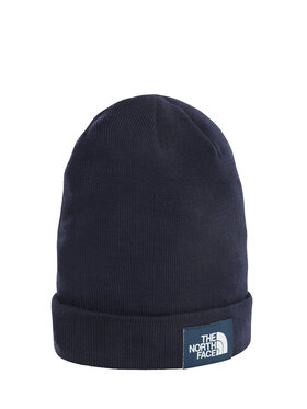 The North Face The North Face Kepurė Dockwkr Rcyld Beanie T93FNT3VW Tamsiai mėlyna