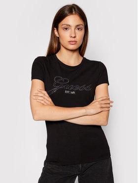 Guess Guess T-shirt Selina W1YI85 J1311 Noir Slim Fit