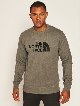 The North Face The North Face Bluză Drew Peak Crew NF0A4SVRGVD1 Gri Regular Fit