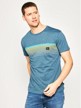 Quiksilver Quiksilver T-Shirt Slab Pocket EQYZT05793 Modrá Regular Fit