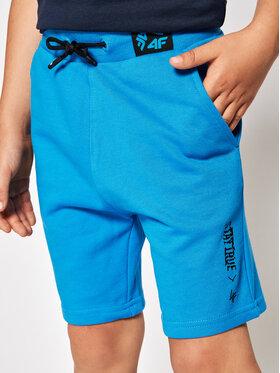 4F 4F Pantaloni scurți sport HJL21-JSKMD003A Bleumarin Regular Fit