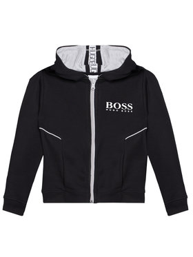 Boss Boss Bluză J25M09 M Negru Regular Fit