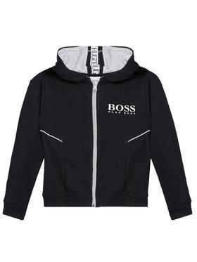 Boss Boss Pulóver J25M09 M Fekete Regular Fit