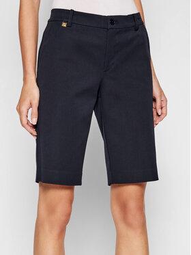 Lauren Ralph Lauren Lauren Ralph Lauren Pantalon scurți din material 200661653012 Bleumarin Regular Fit