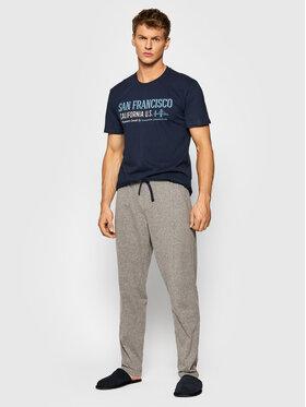 Henderson Henderson Pyžamo Array 39245 Tmavomodrá