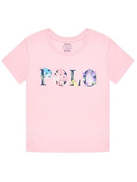 Polo Ralph Lauren Polo Ralph Lauren T-Shirt Graphic Tee 313837218001 Różowy Regular Fit