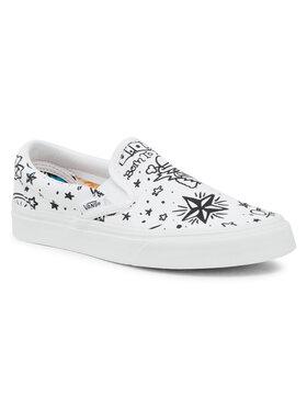 Vans Vans Sneakers aus Stoff Classic Slip-On VN0A4BV31IU1 Weiß