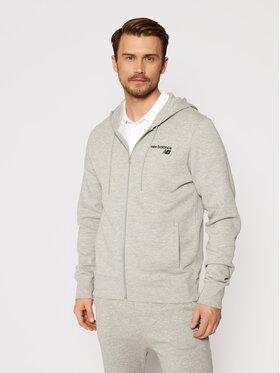 New Balance New Balance Sweatshirt NBMJ0390 Grau Regular Fit