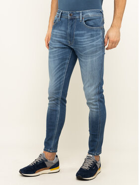 Pepe Jeans Pepe Jeans Дънки тип Relaxed Fit Smith PM204890HB4 Тъмносин Relaxed Fit