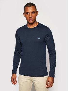Emporio Armani Underwear Emporio Armani Underwear Marškinėliai ilgomis rankovėmis 111653 1P722 00135 Tamsiai mėlyna Slim Fit