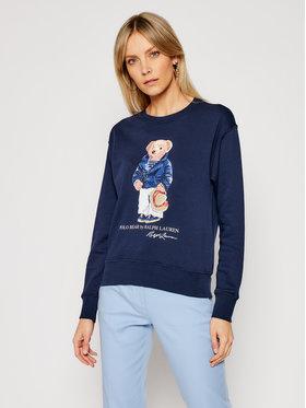 Polo Ralph Lauren Polo Ralph Lauren Sweatshirt Lsl 211827921001 Bleu marine Regular Fit
