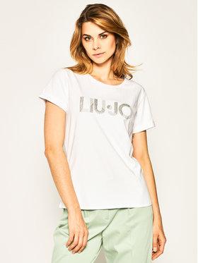 Liu Jo Sport Liu Jo Sport T-Shirt TA0108 J5003 Biały Regular Fit