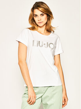 Liu Jo Sport Liu Jo Sport T-Shirt TA0108 J5003 Weiß Regular Fit