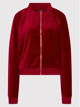 Guess Guess Sweatshirt G-Charm Logo W1BQ11 K9DT1 Rouge Regular Fit