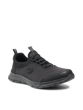 Rieker Rieker Sneakersy B4894-00 Czarny