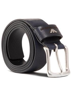 Emporio Armani Emporio Armani Cintura da uomo Y4S198 YDD4G 80013 Blu scuro
