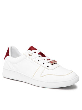 Tommy Hilfiger Tommy Hilfiger Sneakers Premium Court Sneaker FW0FW05920 Blanc