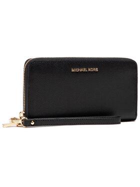 MICHAEL Michael Kors MICHAEL Michael Kors Velká dámská peněženka Jet Set 34F9GTVE3L Černá