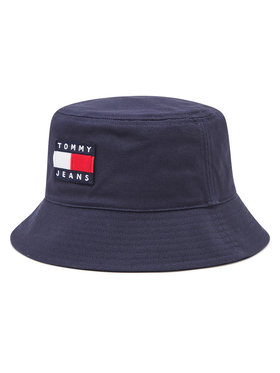 Tommy Jeans Tommy Jeans Klobúk typu bucket Tjw Heritage AW0AW09766 Tmavomodrá