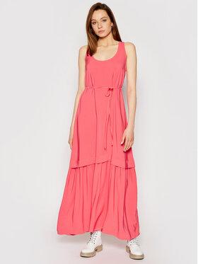 TwinSet TwinSet Sukienka wieczorowa 211TT2168 Różowy Regular Fit