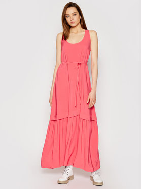 TwinSet TwinSet Večerné šaty 211TT2168 Ružová Regular Fit