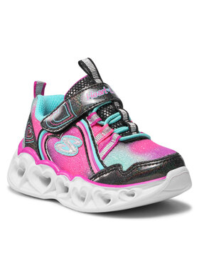 Skechers Skechers Sneakersy Rainbow Lux 302308N/BKMT Różowy