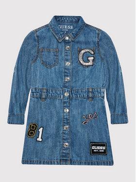 Guess Guess Vestito da giorno K1YK11 D4E90 Blu scuro Regular Fit