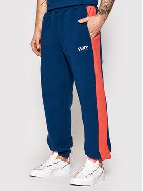 PLNY Textylia PLNY Textylia Pantaloni da tuta Stanford PT-SP-K2-00004 Blu scuro Regular Fit