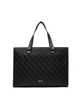 Liu Jo Liu Jo Дамска чанта Xl Tote AF1239 T6438 Черен