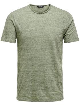 Only & Sons ONLY & SONS T-shirt Albert Life 22005108 Zelena Regular Fit