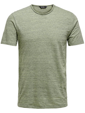 Only & Sons ONLY & SONS T-Shirt Albert Life 22005108 Zielony Regular Fit