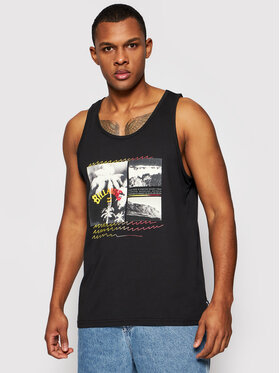 Billabong Billabong Tank top Crash S1SG07BIP0 Czarny Regular Fit