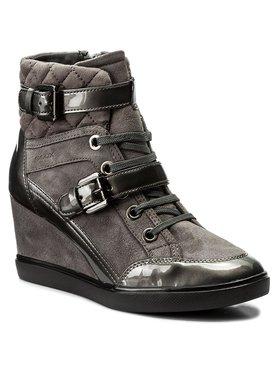 Geox Sneakersy D Eleni C D6467C 021HI C9002 Sivá