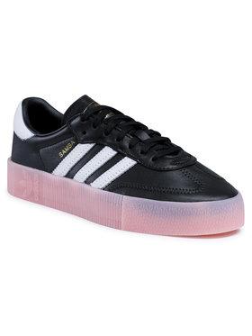 adidas adidas Обувки Sambarose W FX6268 Черен